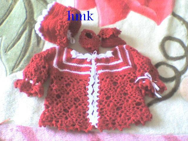 ensemble bébé rouge