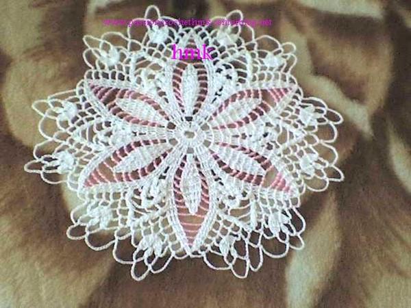 napperon perlé