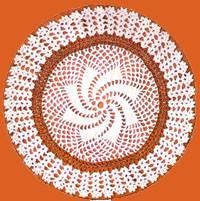 le napperon spirale