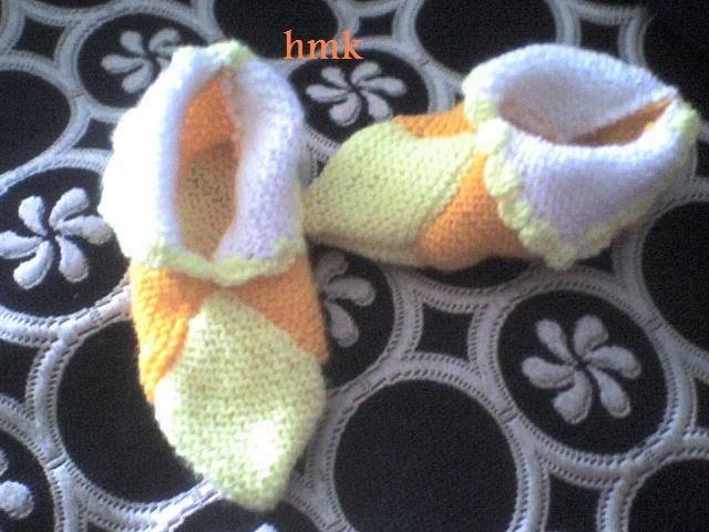 une autre paire de chausson